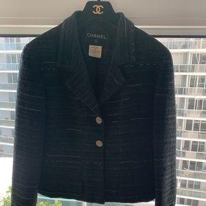 Chanel Cropped Tweed Jacket Sz.40/US 8